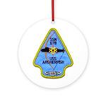USS ARCHERFISH Ornament (Round)