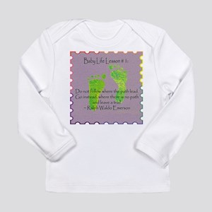 Baby Life Lessons Long Sleeve Infant T-Shirt