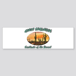Giant Saguaros Sticker (Bumper)