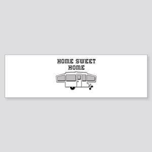 Home Sweet Home Pop Up Sticker (Bumper)