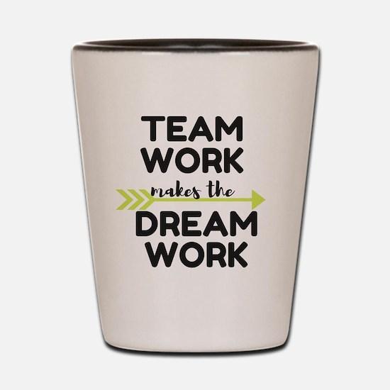 Team Work 2 Shot Glass