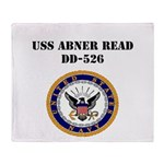 USS ABNER READ Throw Blanket