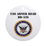 USS ABNER READ Ornament (Round)