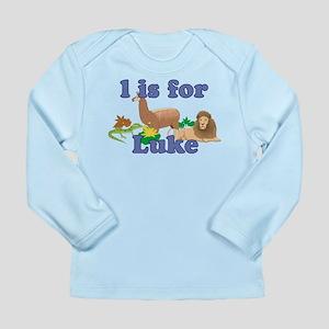 L is for Luke Long Sleeve Infant T-Shirt
