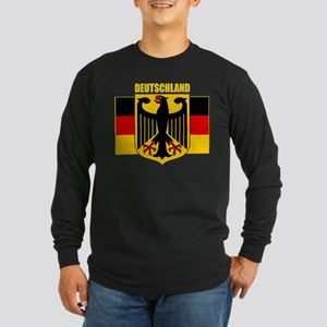 Deutschland 1 Long Sleeve Dark T-Shirt