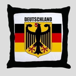Deutschland 1 Throw Pillow