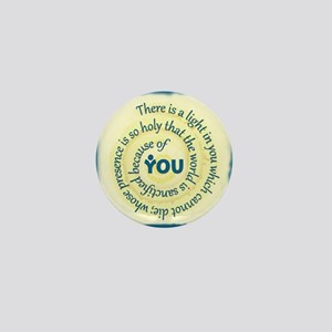 ACIM-A Light in You Buttons Mini Button