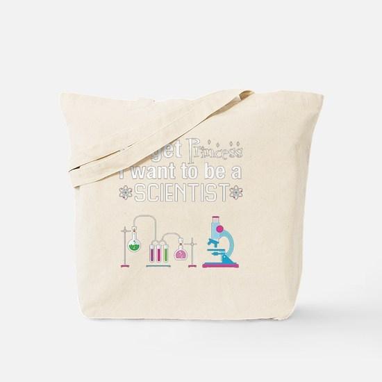 Cute Scientist Tote Bag