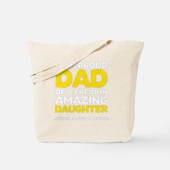 Unique Fathers day Tote Bag
