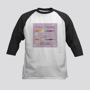 Proud Property Moms Kids Baseball Jersey