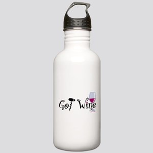 Got Wine Stainless Water Bottle 1.0L