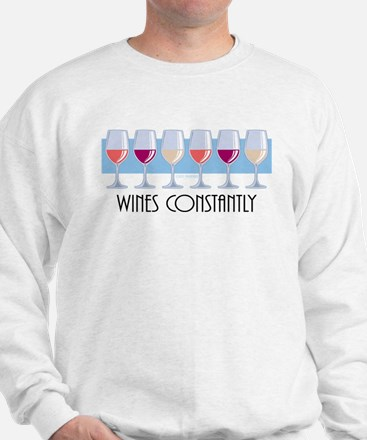 Wines Constantly Sweatshirt
