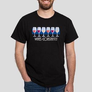 Wines Constantly Dark T-Shirt