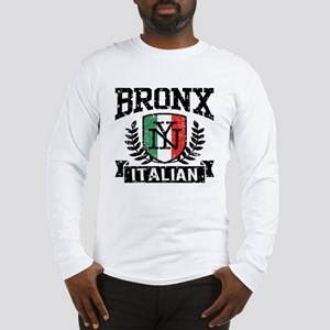 Bronx NY Italian Long Sleeve T-Shirt