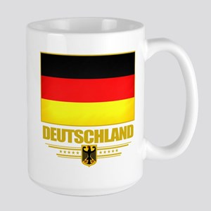 Deutsch Flagge Large Mug