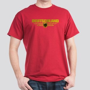 Deutsch Flagge Dark T-Shirt