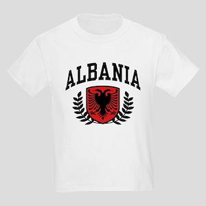 9e8ab27a0 Albanian Flag Kids T-Shirts - CafePress