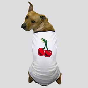 Cherries Tattoo Dog T-Shirt