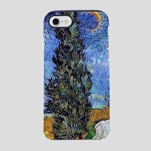 Van Gogh Starry Cyrpess Rd iPhone 7 Tough Case