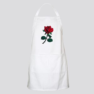 Red Rose Tattoo Apron