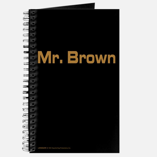 Reservoir Dogs Mr. Brown Journal