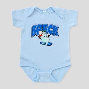 Breck Snowboarder Infant Bodysuit