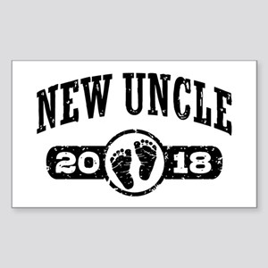 New Uncle 2018 Sticker (Rectangle)