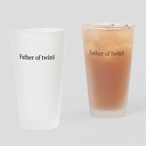 Father of twins Drinking Glass