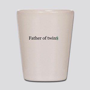 Father of twins Shot Glass
