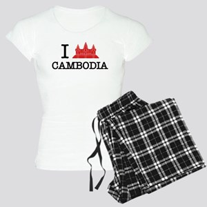 I Angkor (Love) Cambodia Women's Light Pajamas