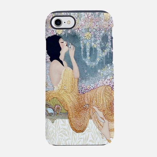 Art Deco Vanity Lady iPhone 7 Tough Case