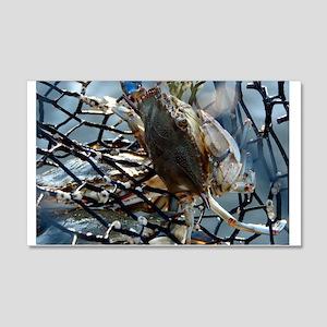 Gumbo Crab 22x14 Wall Peel