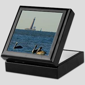 Sand Island Lighthouse Keepsake Box