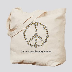 I'm on a bees-keeping mission Tote Bag