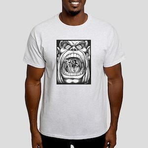 Screaming Face Light T-Shirt