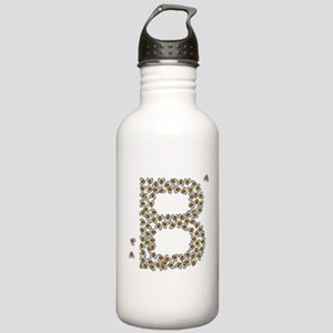 """B"" (made of bees) Stainless Water Bottle 1.0L"