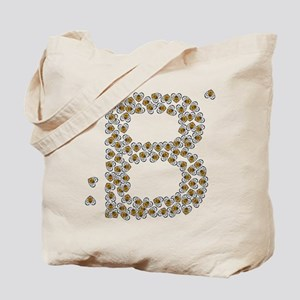 """B"" (made of bees) Tote Bag"