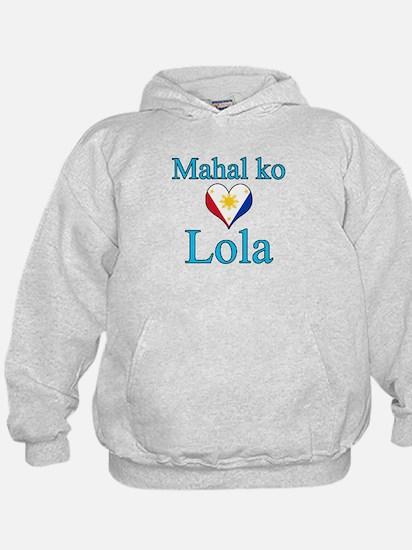 I Love Grandma (Filipino) Hoodie