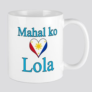 I Love Grandma (Filipino) Mug