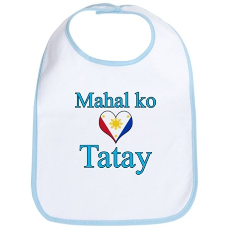 I Love Dad (2) (Filipino) Bib