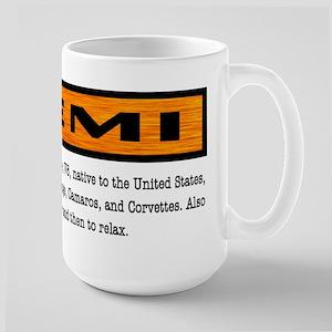 HEMI definition Large Mug