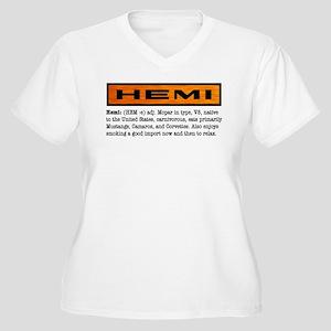 HEMI definition Women's Plus Size V-Neck T-Shirt