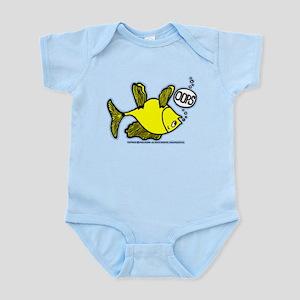 OOPS Upside Down Fish Infant Bodysuit