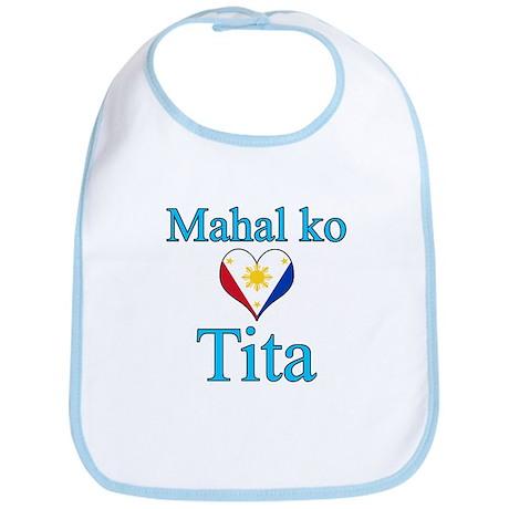 I Love Aunt (Filipino) Bib