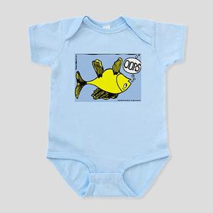 Up Side Down Fish! Infant Bodysuit