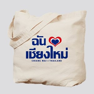 I Love (Heart) Chiang Mai Tote Bag