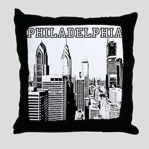 Philadelphia Throw Pillow