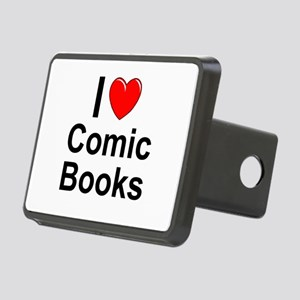 Comic Books Rectangular Hitch Cover