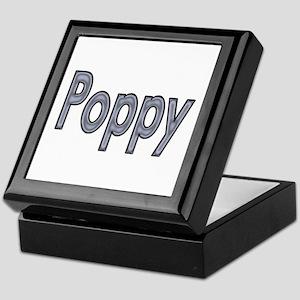 POPPY metal Keepsake Box