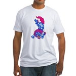 Foo Dog Tattoo Fitted T-Shirt